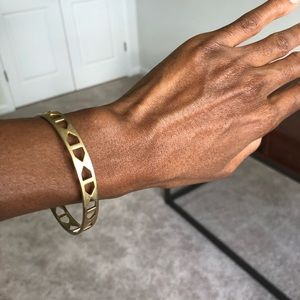Madewell brass bracelet
